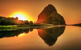 Τελευταίο φως σε Piha στοκ φωτογραφίες με δικαίωμα ελεύθερης χρήσης