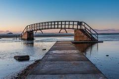 Τελευταίο φως στη γέφυρα πουθενά Στοκ φωτογραφία με δικαίωμα ελεύθερης χρήσης