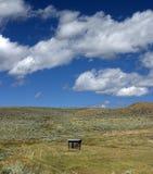 τελευταίο outhouse Στοκ εικόνα με δικαίωμα ελεύθερης χρήσης