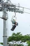 Τελεφερίκ και ορίζοντας Luge, Σιγκαπούρη, Decembe της Σιγκαπούρης Sentosa Στοκ φωτογραφία με δικαίωμα ελεύθερης χρήσης