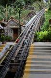 τελεφερίκ σιδηρόδρομος penang στοκ φωτογραφίες με δικαίωμα ελεύθερης χρήσης