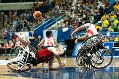 Τελικός πρωταθλήματος καλαθοσφαίρισης παγκόσμιων αναπηρικών καρεκλών Στοκ Φωτογραφίες