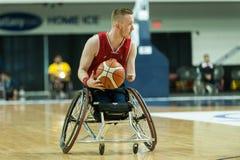 Τελικός πρωταθλήματος καλαθοσφαίρισης παγκόσμιων αναπηρικών καρεκλών Στοκ Εικόνες