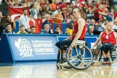 Τελικός πρωταθλήματος καλαθοσφαίρισης παγκόσμιων αναπηρικών καρεκλών Στοκ Εικόνα
