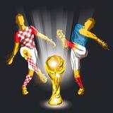 Τελικό Παγκόσμιο Κύπελλο της FIFA του 2018 Στοκ φωτογραφία με δικαίωμα ελεύθερης χρήσης