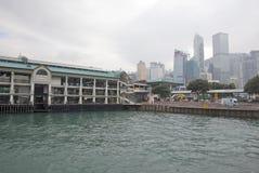 Τελικό Χονγκ Κονγκ πορθμείων Στοκ εικόνα με δικαίωμα ελεύθερης χρήσης