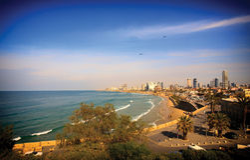 Τελ Αβίβ Στοκ Εικόνες