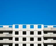 Τεμάχιο ενός κτηρίου κάτω από την οικοδόμηση Στοκ Φωτογραφίες