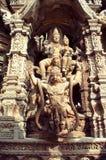 Τεμάχιο ενός ξύλινου βουδιστικού αδύτου ναών της αλήθειας στο Βορρά στοκ εικόνες