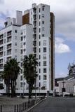 Τεμάχιο ενός υψηλού κατοικημένου κτηρίου ανόδου στη Λισσαβώνα, Πορτογαλία Στοκ φωτογραφία με δικαίωμα ελεύθερης χρήσης