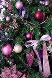 Τεμάχιο ενός χριστουγεννιάτικου δέντρου Στοκ Εικόνα