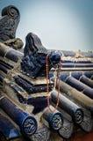 Τεμάχιο της αρχιτεκτονικής Chineese Στοκ εικόνα με δικαίωμα ελεύθερης χρήσης