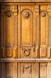 Τεμάχιο της ξύλινης πόρτας στην παλαιά Ρήγα Στοκ εικόνες με δικαίωμα ελεύθερης χρήσης