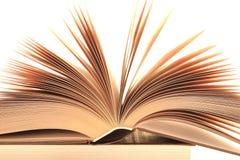 Τεμάχιο του ανοιγμένου βιβλίου Στοκ εικόνα με δικαίωμα ελεύθερης χρήσης