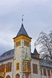 Τεμάχιο του αρχαίου κτηρίου στην παλαιά πόλη Solothurn Στοκ φωτογραφία με δικαίωμα ελεύθερης χρήσης