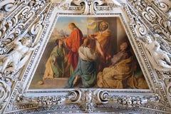 Τεμάχιο του θόλου στο παρεκκλησι του ιερού πνεύματος, καθεδρικός ναός του Σάλτζμπουργκ Στοκ φωτογραφία με δικαίωμα ελεύθερης χρήσης