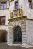 Τεμάχιο του κτηρίου στην παλαιά πόλη Solothurn Στοκ εικόνα με δικαίωμα ελεύθερης χρήσης