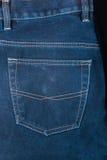 Τεμάχιο του πίσω τζιν παντελόνι τσεπών Στοκ φωτογραφίες με δικαίωμα ελεύθερης χρήσης