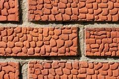 Τεμάχιο του τοίχου τούβλινου E r στοκ φωτογραφία με δικαίωμα ελεύθερης χρήσης