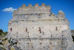 Τεμάχιο του Castle Acquadda Σαρδηνία Ιταλία Στοκ φωτογραφία με δικαίωμα ελεύθερης χρήσης
