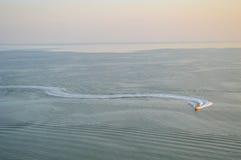 Τεμάχιση της θάλασσας Στοκ φωτογραφία με δικαίωμα ελεύθερης χρήσης