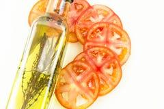 τεμαχίστε την ντομάτα Στοκ φωτογραφία με δικαίωμα ελεύθερης χρήσης