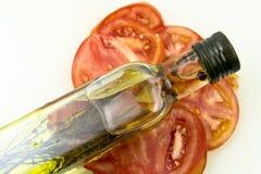 τεμαχίστε την ντομάτα Στοκ Εικόνα