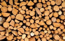 Τεμαχισμένα ξύλα Στοκ Φωτογραφίες
