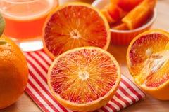 Τεμαχισμένα πορτοκάλια Στοκ εικόνες με δικαίωμα ελεύθερης χρήσης