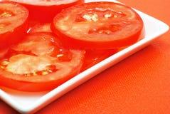 τεμαχισμένη ντομάτα Στοκ φωτογραφία με δικαίωμα ελεύθερης χρήσης