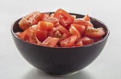 τεμαχισμένη ντομάτα Στοκ εικόνα με δικαίωμα ελεύθερης χρήσης