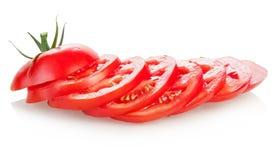 τεμαχισμένη ντομάτα Στοκ Εικόνες