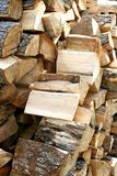 τεμαχισμένη ξυλεία Στοκ Φωτογραφίες