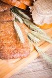 τεμαχισμένος ψωμί σίτος Στοκ Εικόνες