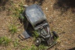 Τεμαχισμένο αυτοκίνητο στοκ φωτογραφίες