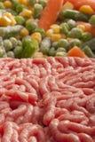 τεμαχισμένο κρέας Στοκ Φωτογραφίες