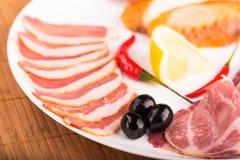 Τεμαχισμένο κρέας Στοκ Εικόνες