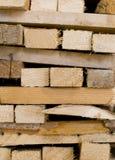 Τεμαχισμένο ξύλο Στοκ Φωτογραφίες