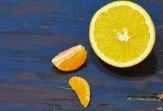 Τεμαχισμένο πορτοκάλι €‹ στοκ φωτογραφία με δικαίωμα ελεύθερης χρήσης