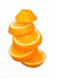 Τεμαχισμένο πορτοκάλι Στοκ φωτογραφία με δικαίωμα ελεύθερης χρήσης