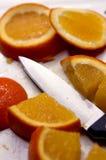 τεμαχισμένο πορτοκάλι Στοκ Φωτογραφία