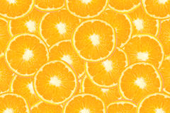 Τεμαχισμένο πορτοκαλί υπόβαθρο φρούτων Στοκ φωτογραφία με δικαίωμα ελεύθερης χρήσης