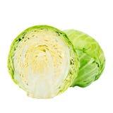 Τεμαχισμένο πράσινο λάχανο Στοκ Εικόνες