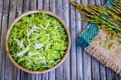 Τεμαχισμένο σιτάρι ρυζιού Στοκ εικόνες με δικαίωμα ελεύθερης χρήσης