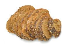 Τεμαχισμένο ψωμί σπόρου σίκαλης στοκ φωτογραφία