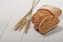 Τεμαχισμένο ψωμί Ciabatta στοκ εικόνα με δικαίωμα ελεύθερης χρήσης