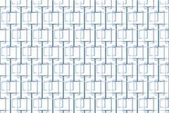 Τεμνόμενο σχέδιο τετραγώνων διανυσματική απεικόνιση