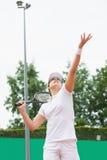 Τενίστας που η σφαίρα Στοκ φωτογραφίες με δικαίωμα ελεύθερης χρήσης