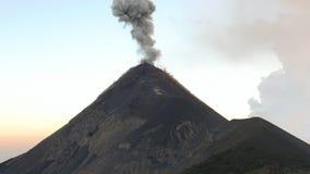 Τεράστια έκρηξη της ενεργού Vulcan απόθεμα βίντεο