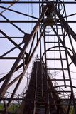 τεράστια δομή μετάλλων ατό&m Στοκ φωτογραφίες με δικαίωμα ελεύθερης χρήσης